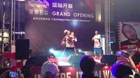 北京花式篮球现场表演小任