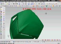 NX8.5建模模块之曲面工具快速造面