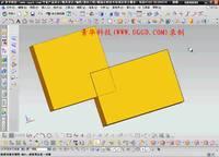 NX8.5建模模块-求交用法