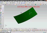NX8.5建模模块-表面上的曲线用法