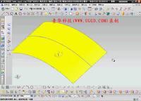 NX8.5建模模块-抽取曲线用法