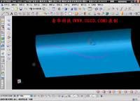 NX8.5建模模块之曲面工具规律延伸