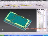 50.手机复杂外观电极加工2