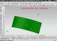 NX8.5建模模块-片体加厚用法