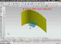 NX8.5建模模块-投影曲线用法