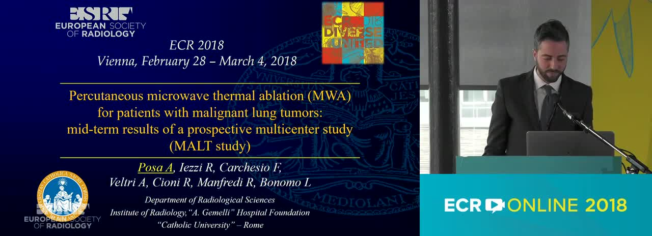 Percutaneous microwave thermal ablation (MWA) for patients with malignant lung tumors: mid-term results of a prospective multicenter study (MALT study)