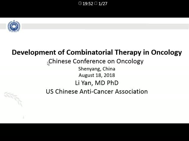 Early Phase Development of Combinatorial Therapies of Cancer Medicines