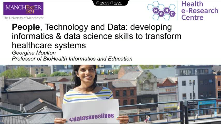 Introduction of Health Data Science in UoM