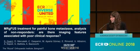MRgFUS treatment for painful bone metastases: imaging features associated with poor clinical response