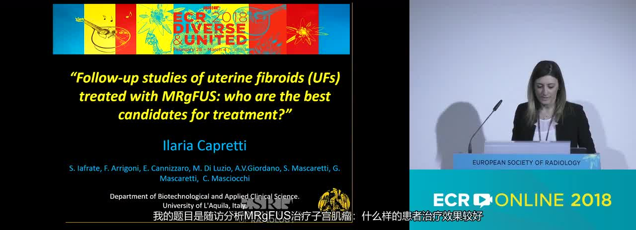 Follow-up studies of uterine fibroids (UFs) treated with MRgFUS: who are the best candidates for treatment?