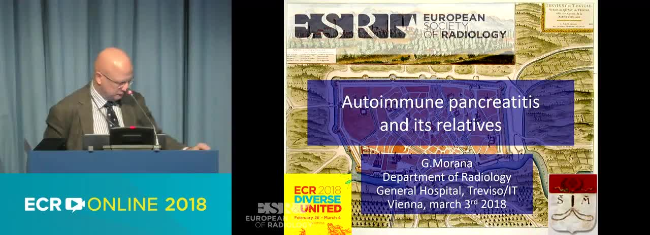 B. Autoimmune pancreatitis and its relatives