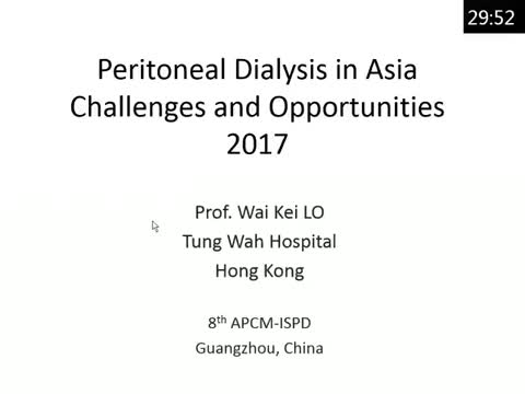 Peritoneal dialysis in Asia: challenges and opportunities