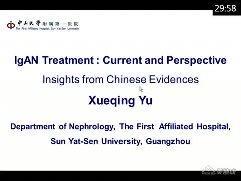 IgAN management: Insights from Chinese IgAN database