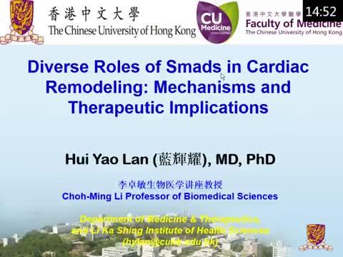 Smads信号在心脏重塑中的不同角色:机制和临床治疗意义