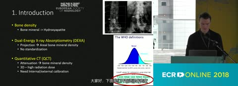 Improving the sensitivity of bone mineral density assessment using spectral detector CT