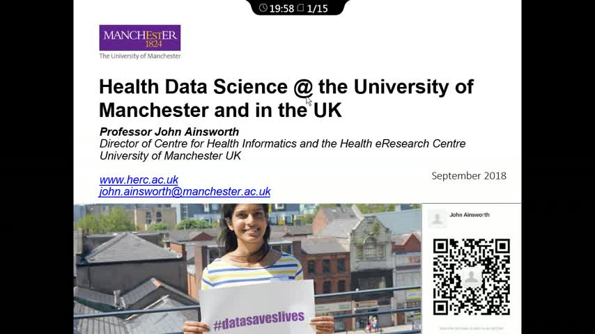 Application of Big data in Health - Experience from United Kingdom