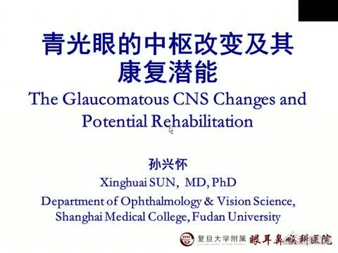 视觉中枢可塑性改变与青光眼性低视力康复潜能的研究