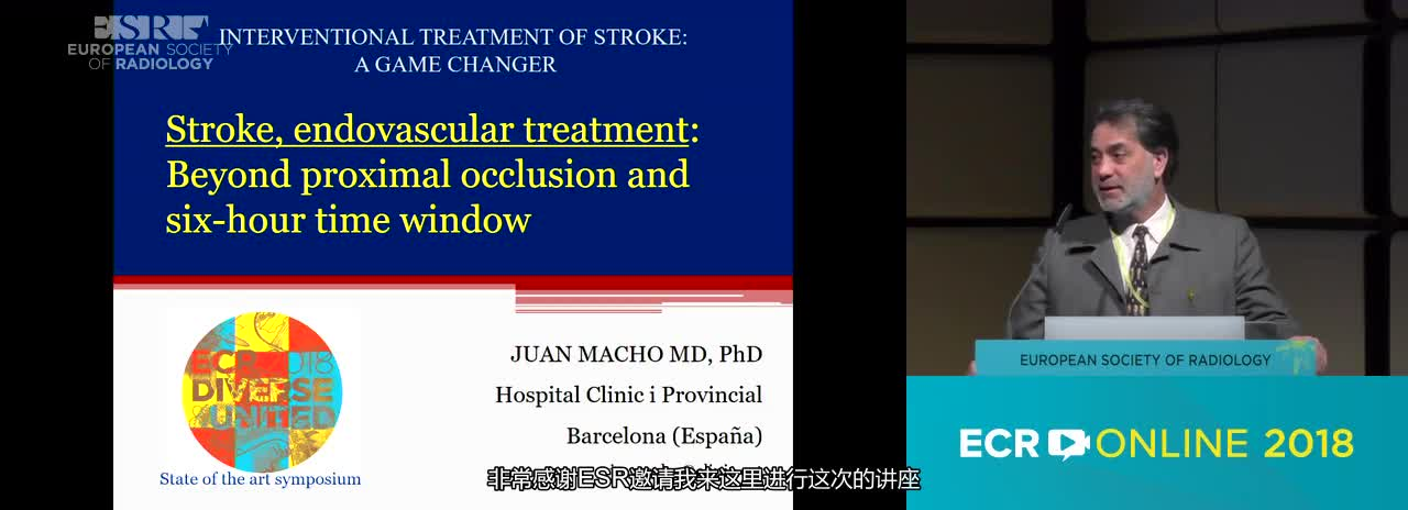 Stroke, endovascular treatment: beyond proximal occlusion and six-hour time window