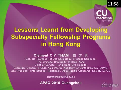 Lessons Learnt from Developing Subspecialty Fellowship Programs in Hong Kong