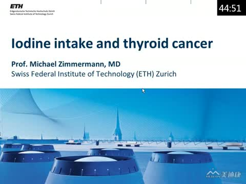 Iodine intake and thyroid cancer
