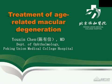 Treatment of Age-Related Macular Degeneration