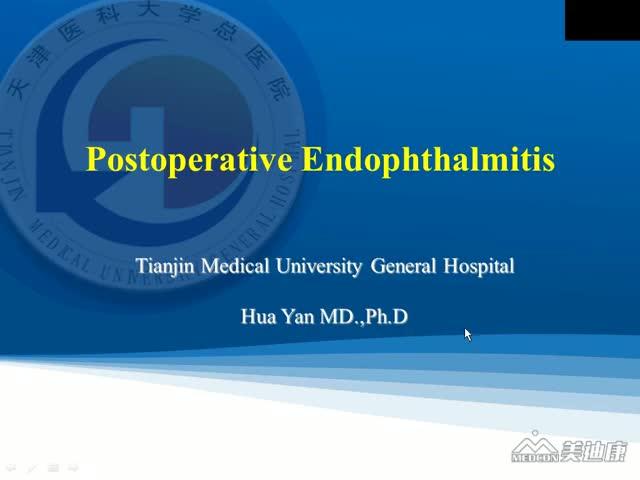Post Op Endophthalmitis