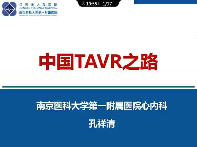 中国经皮主动脉瓣置入术的发展
