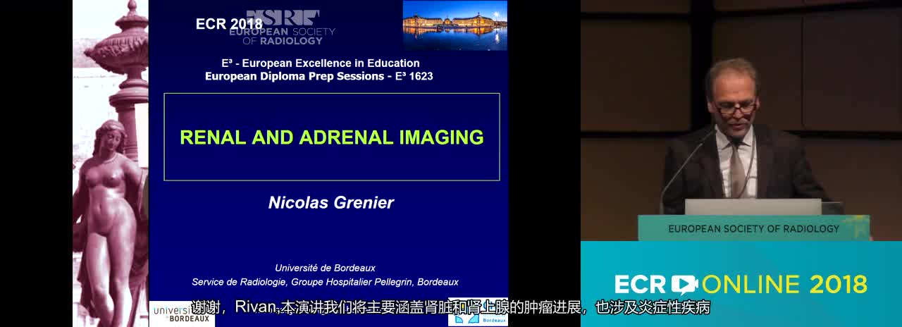 A. Renal and adrenal imaging