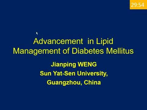 New treatment for diabetic dyslipidemia