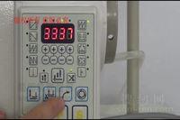 琦星一体机电控软启动的针数和速度调整视频