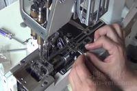 飞马W600绷缝车自动剪线刀组安装