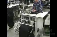 EWS 6300全自动包缝机操作展示视频