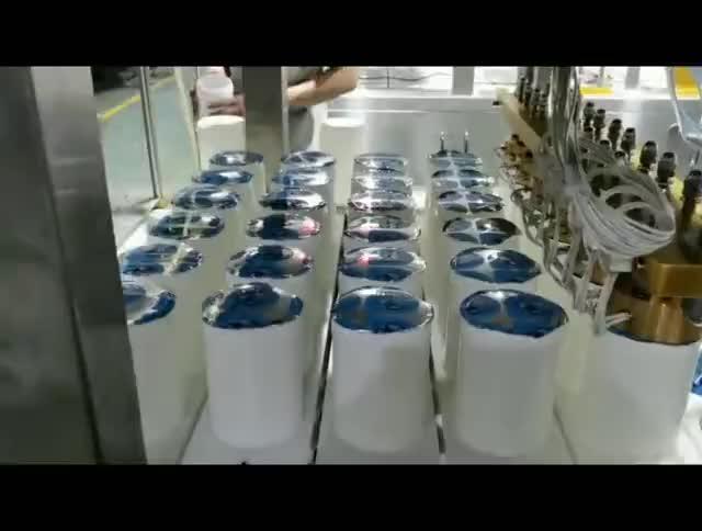 QCF-6型湿巾桶灌装封口机