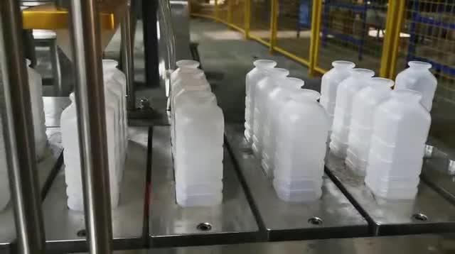 4型牛奶瓶灌装封口机