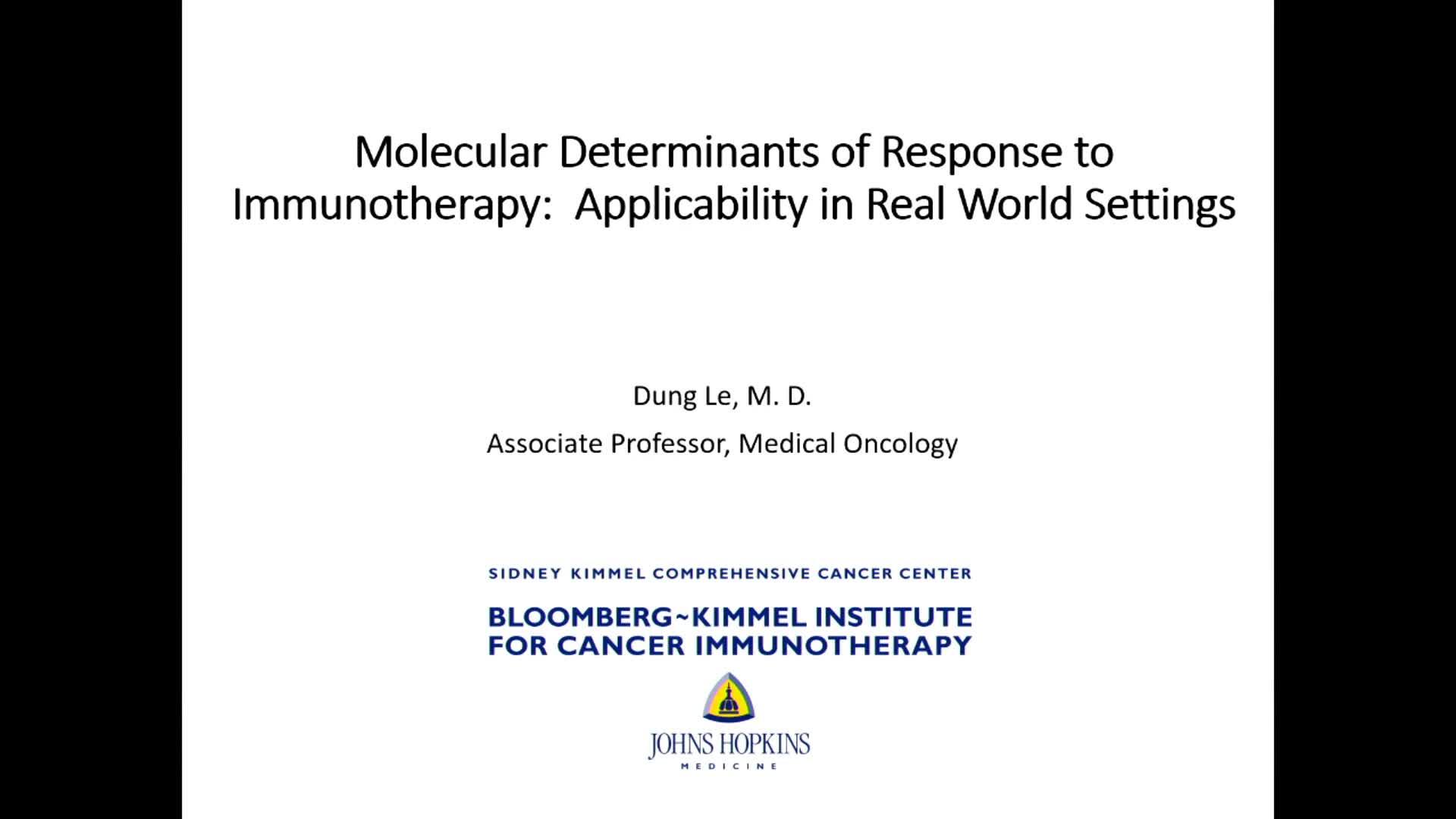 分子分型决定疗效:分子分型的实际应用